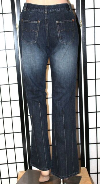 MIXIT Women's Size 6 Distressed Flare Boot Cut Stretch Denim Jeans 31