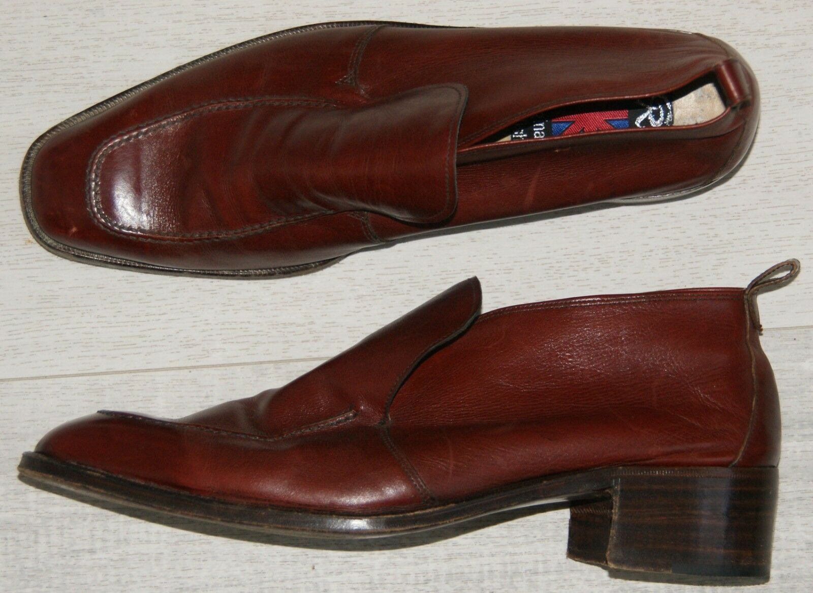 Señores Slipper por vía renal original English English English marrón Color marrón-rojizo talla 7 2d5c64