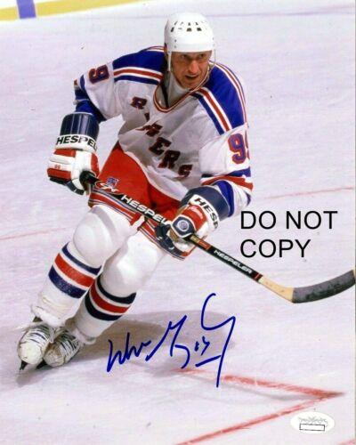 Wayne Gretzky Signed 8x10 Autographed REPRINT PHOTO New York Rangers RP