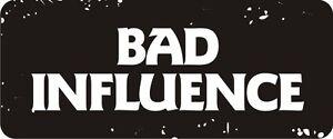 3-Bad-Influence-Hard-Hat-Biker-Helmet-Sticker-BS052