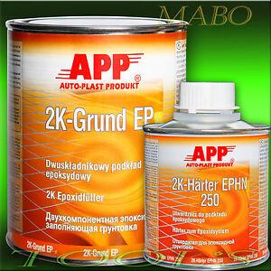 2K-EPOXID-GRUNDIERUNG-EPOXY-FULLER-FILLER-THERMO-GRUND-HARTER-1-2Kg-APP-021201
