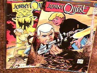 JONNY QUEST # 1,3 COMIC BOOKS DAVE STEVENS