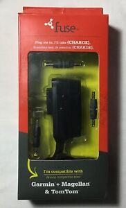 FUSE - Charging Cable Universal for Garmin, Magellan, & TomTom GPS Units-NIB