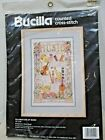 Bucilla Celebration of Music 40512 Counted Cross Stitch Kit 1990 Nancy Rossi