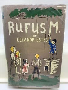 Rufus M. by Eleanor Estes Hardcover Dust-jacket   Harcourt