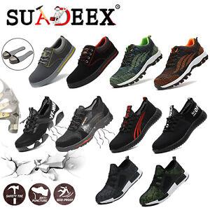 Chaussures De Sécurité Homme S3 Chaussure De Travail Bottes Légèr Embout D'acier