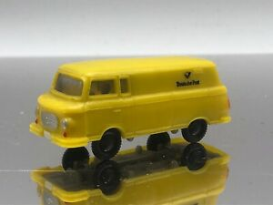 Wiking-1-87-Scale-Swiss-Van-Deutsche-Post-HO-Scale-Vintage