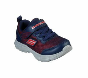 Skechers Kids Sneakers Flex Play Black+Gray Athletic Shoes Toddler Unisex 97880