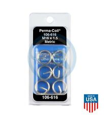 Perma Coil 106 616 Metric Thread Insert Pack M16x15 6pc Helicoil R3745 16