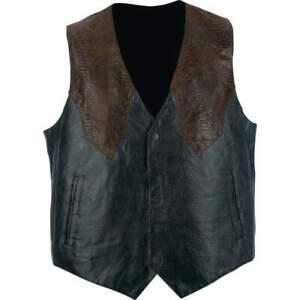 Giovanni-Navarre-Hand-Sewn-Pebble-Grain-Genuine-Leather-Western-Style-Vest