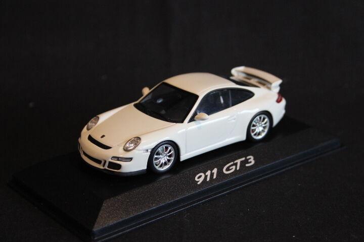 Minichamps (DV) Porsche 911 GT3 1 43 blanc (HB)