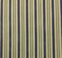 Waverly L.h. General Store Blue Green Stripe Multipurpose Fabric By Yard 54w