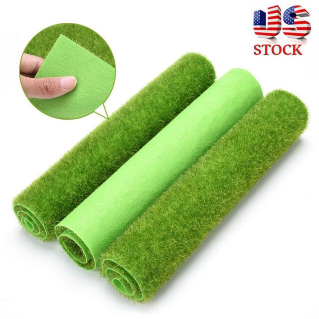 Artificial Grass Lawn Turf Mat Dollhouse Miniature Garden Landscaping Ornament For Sale Online Ebay