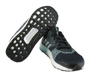766528eec9d3a Adidas Men Ultra Boost ST Training Shoes Running Black Sneakers GYM ...