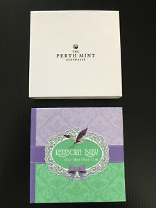 Mint-1-2-oz-99-99-Silver-Proof-2018-Newborn-Baby-Gift-Coloured-50-Cent-Coin