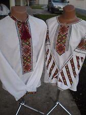 Ukrainian embroidery, embroidered blouse Women+Men, XS - 4XL, Ukraine