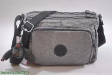 New With Tag Kipling RETH Shoulder Cross Body Bag HB3814 - Silver Glimmer