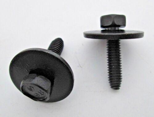 20 10 MM Head 11502941 GM M6-1.0 x 25 MM Hex Head SEM Body Bolts Loose Washers