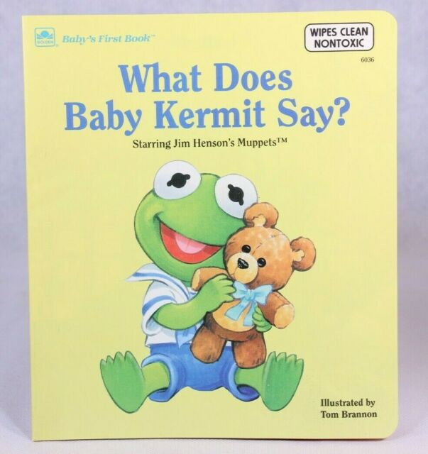 Good! What Does Baby Kermit Say? Illustrated by Tom Brannon (1993 SC)