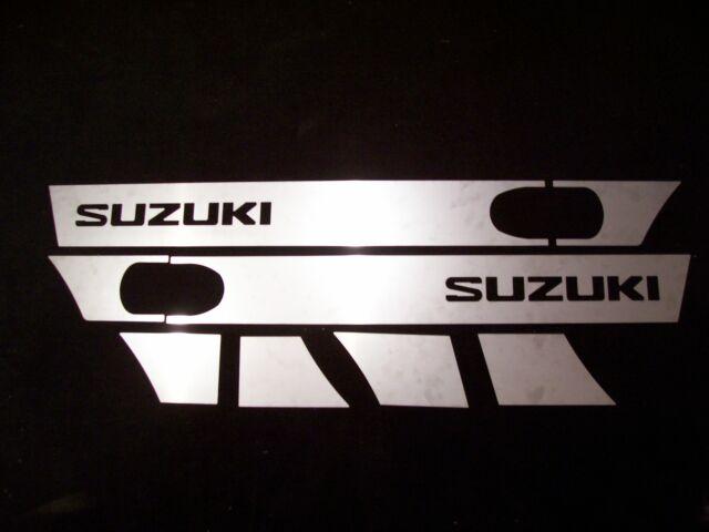 SUZUKI SAMURAI *RARE* STAINLESS STEEL TRIM KIT - Door Fender Body Dress Up 86-95