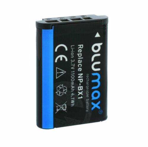 SetAkku NP-BX1 1100mAhLadegerät für Sony AS100V AS200V AZ1VR  FDR-X1000V