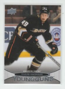 (72180) 2011-12 UPPER DECK YOUNG GUNS MAXIME MACENAUER #202 RC