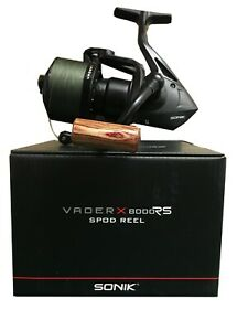 New-2019-Sonik-Vader-X-8000-RS-Spod-Reel-Quick-Torque-Drag-System-VXR080RSPD