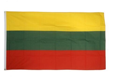 Fahne Litauen Flagge litauische Hissflagge 90x150cm