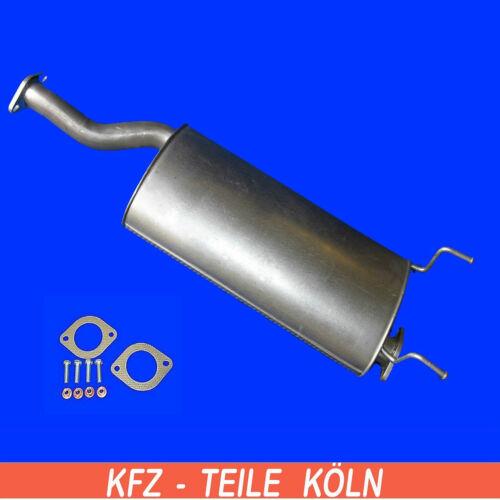 GAB/_ Set 2.7 XDI Turbo 4x4 132KW Mittelschalldämpfer Auspuff Ssangyong Rexton