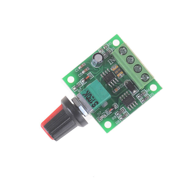 1.8V 3V 5V 6V 12V 2A Low Voltage Motor Speed Controller PWM 1803B M216 N_AU