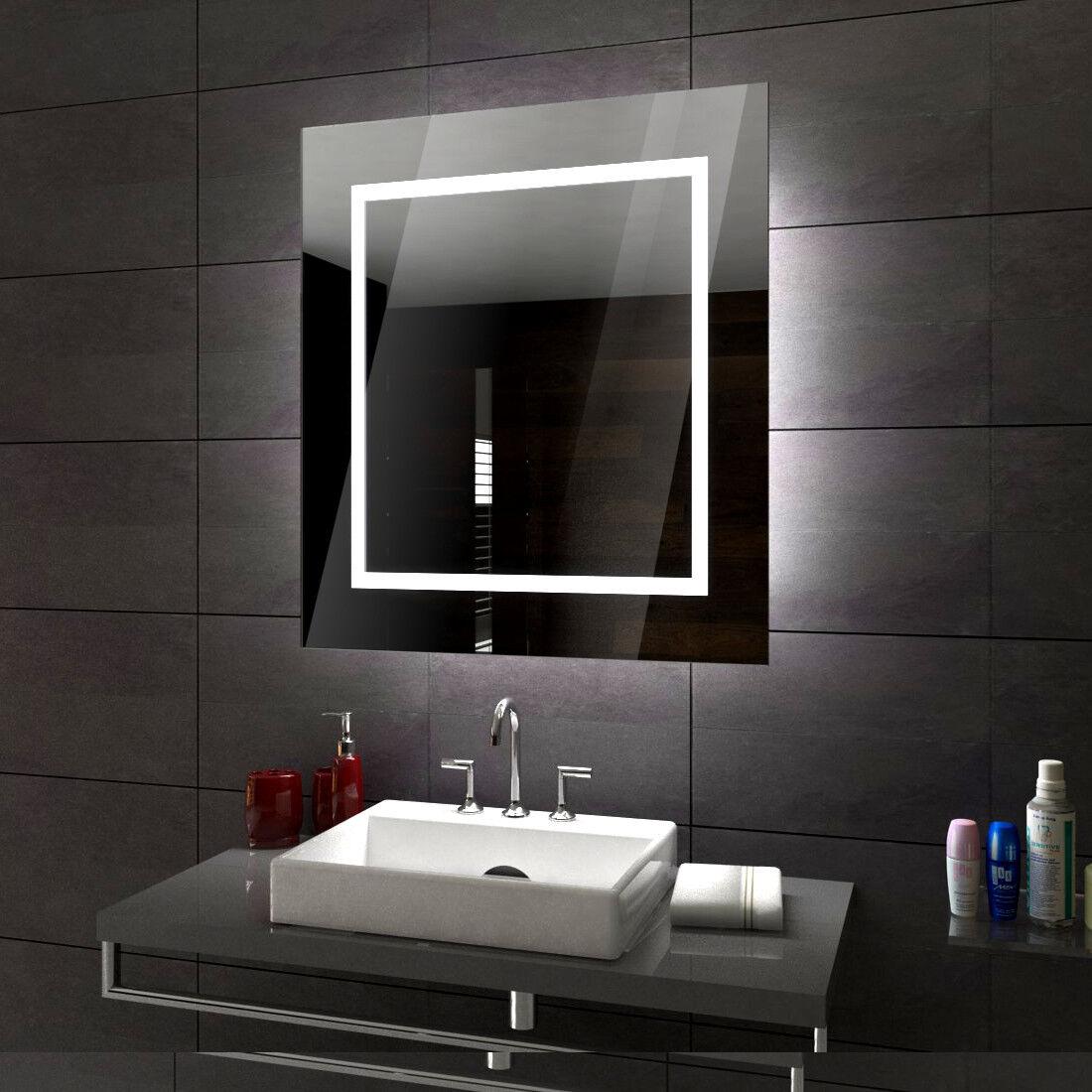Sofia éclairé del Miroir salle de bain Led- pour mesurer Choisissez accessoires