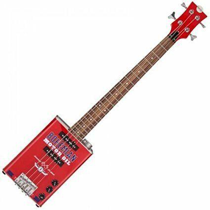 Bohemian Motor Oil Can Bass Guitar (BGB15MO)