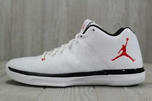 new products 7b66f f7c2c Image is loading 39-Nike-Air-Jordan-XXXI-Low-White-Basketball-