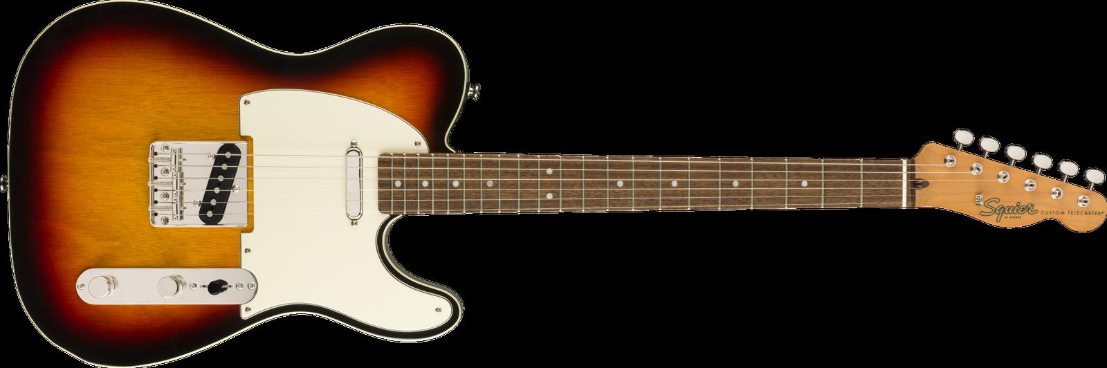 This Squier Telecaster electric guitar is for sale - Squier Classic Vibe '60s Custom Telecaster Electric Guitar - 3-Colour Sunburst