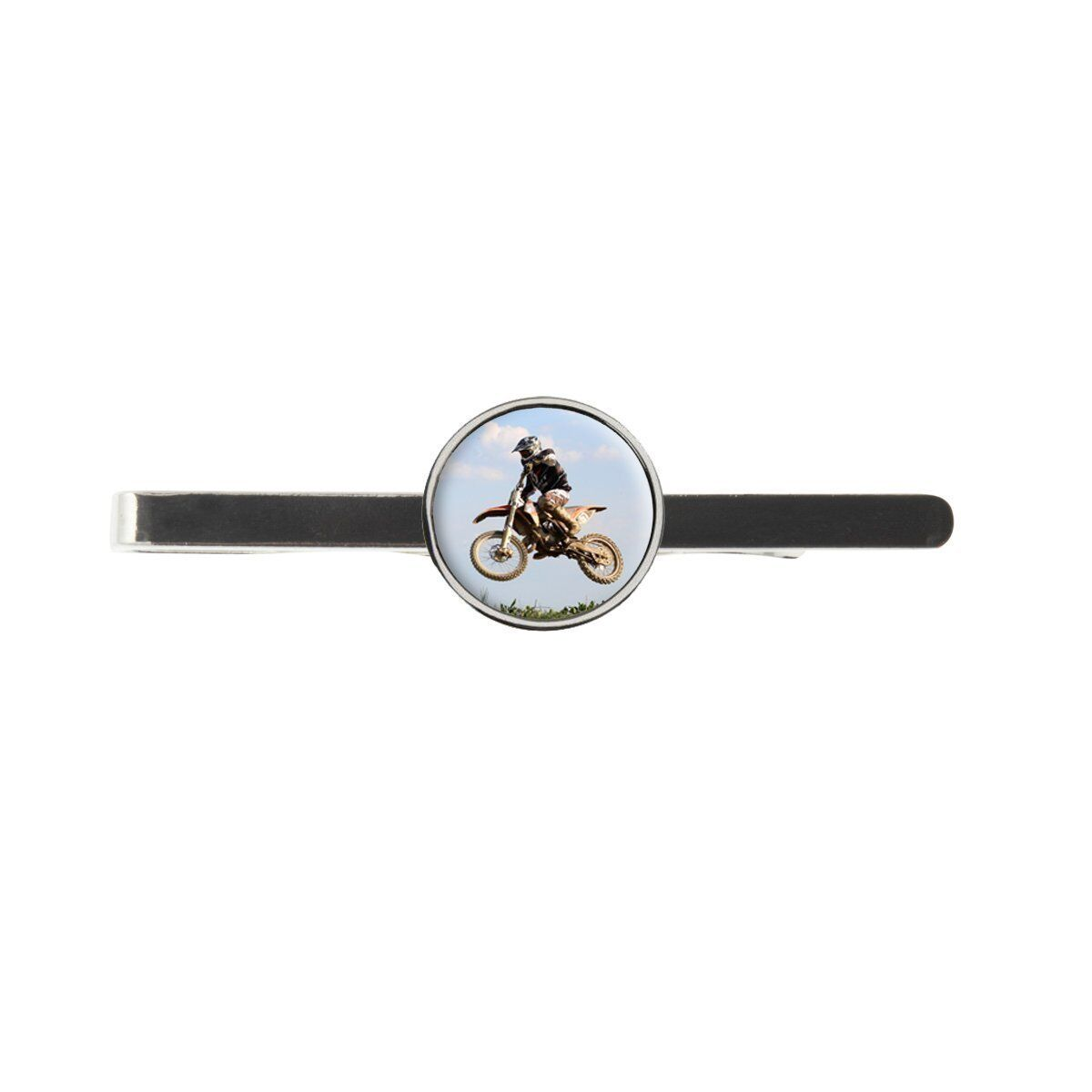 Motocross Mens Tie Slide Ideal Birthday Wedding Or Father Day Gift C391