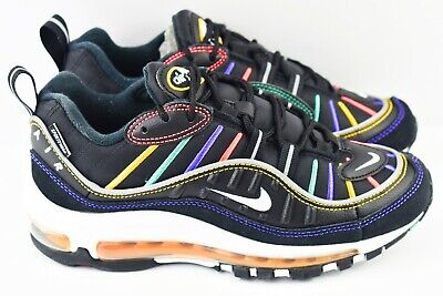 Nike Air Max 98 PRM Womens Size 6.5 Shoes CI1901 023 Black Martin | eBay