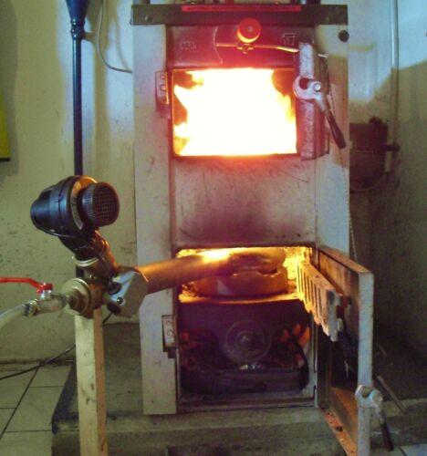 Altölbrenner f Holz-Ölofen,Hallenheizung,Werkstattofen,Poolheizung  5-30 Kw