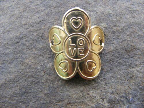 Love /& Coeurs Walking Stick Mount//badge