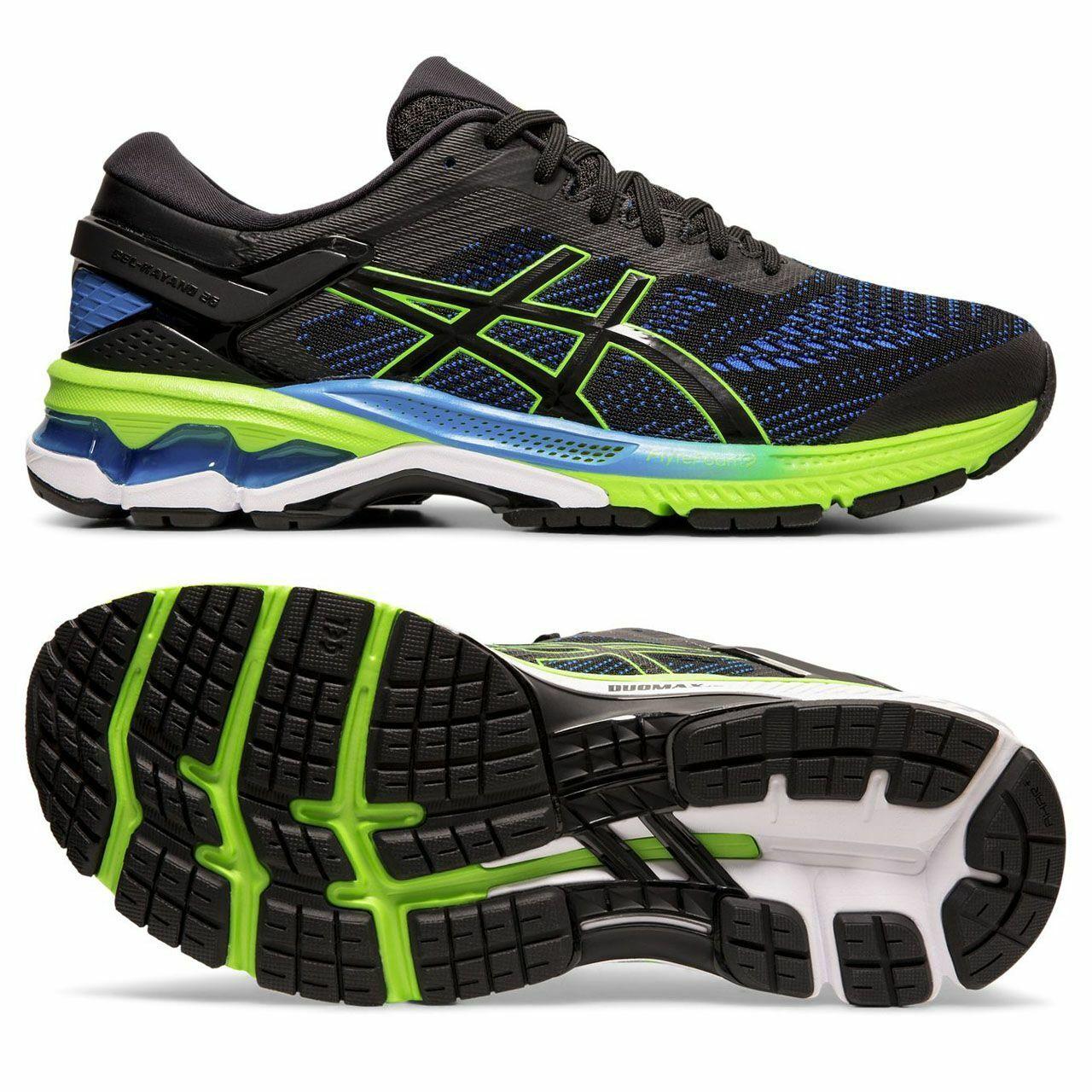 Asics Gel-Kayano 26 mannens Overpronation Stability hardlopen schoenen