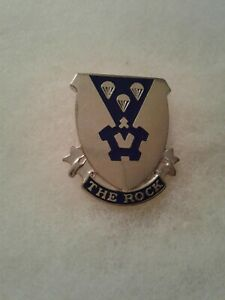 Authentic-US-Army-503rd-Infantry-Regiment-Unit-DI-DUI-Crest-Insignia-G-23