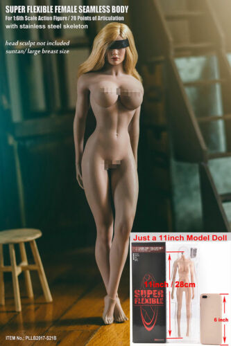 TBLeague PHICEN S21B 1//6 Female body Suntan Large Breast figure Doll Hot Toys