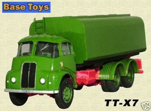 Base toys TT-X7 thornycroft 6 roues citerne 1//76 nouvelle carte