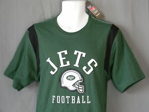 79912b5b1 NEW York Jets NFL Football T-Shirt Short Sleeve Pullover Green Top ...