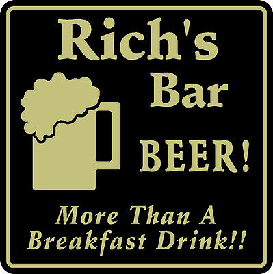 Personalized Bar Sign Beer Pub Gift Everything/'s Hotter  #3 Custom USA Made