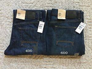 Nuevo Con Etiquetas Timberland Hombre Relaxed Fit Pierna Recta Jeans Pantalones De Mezclilla Tj002 Todos Los Tamanos Ebay