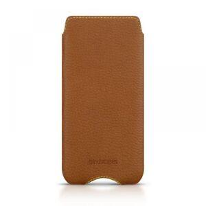 Beyzacases-Genuine-Leather-Zero-Case-for-Sony-Xperia-Z5-Compact-Tan
