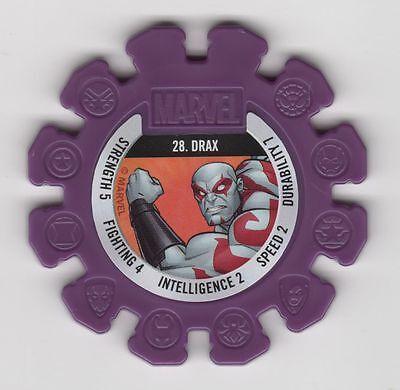 Woolworths Marvel Heroes Disc #28 Drax Purple Woolies