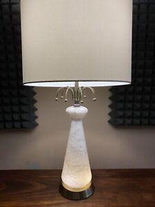 Vintage-MCM-Starburst-Sputnik-Atomic-Era-Lamp-With-Night-Light-3-Way-Switch