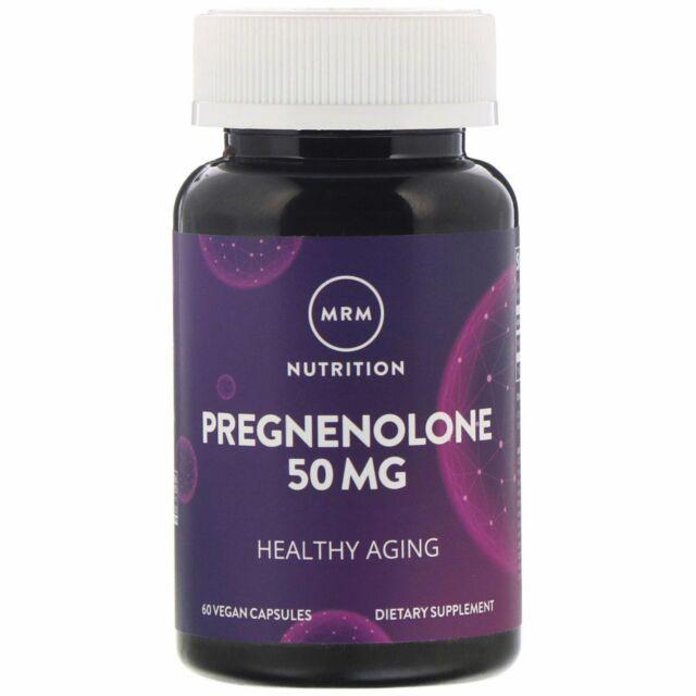MRM: Ernährung, Pregnenolon, 50 mg, 60 vegane Kapseln