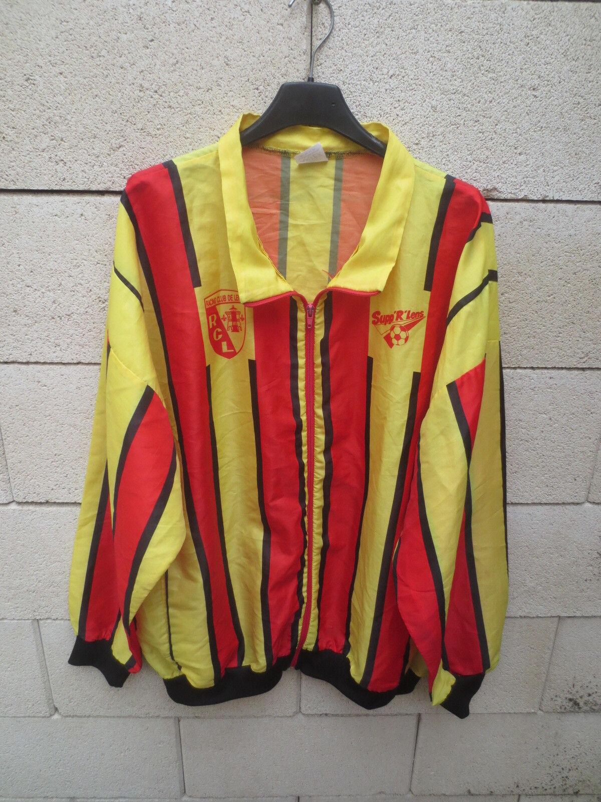 Veste SUPP'R'LENS Supporters Lens football vintage collection jacket sang or XL